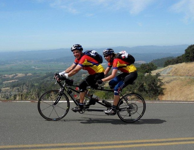 Pat Seely and Marlies Radtke on Geysers on the 2011 Terrible Two