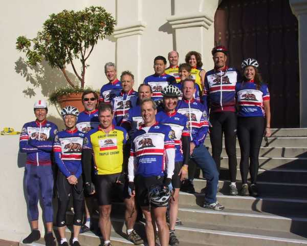 Channel Islands Bike Club are looking GREAT in their California Triple Crown Jerseys!!