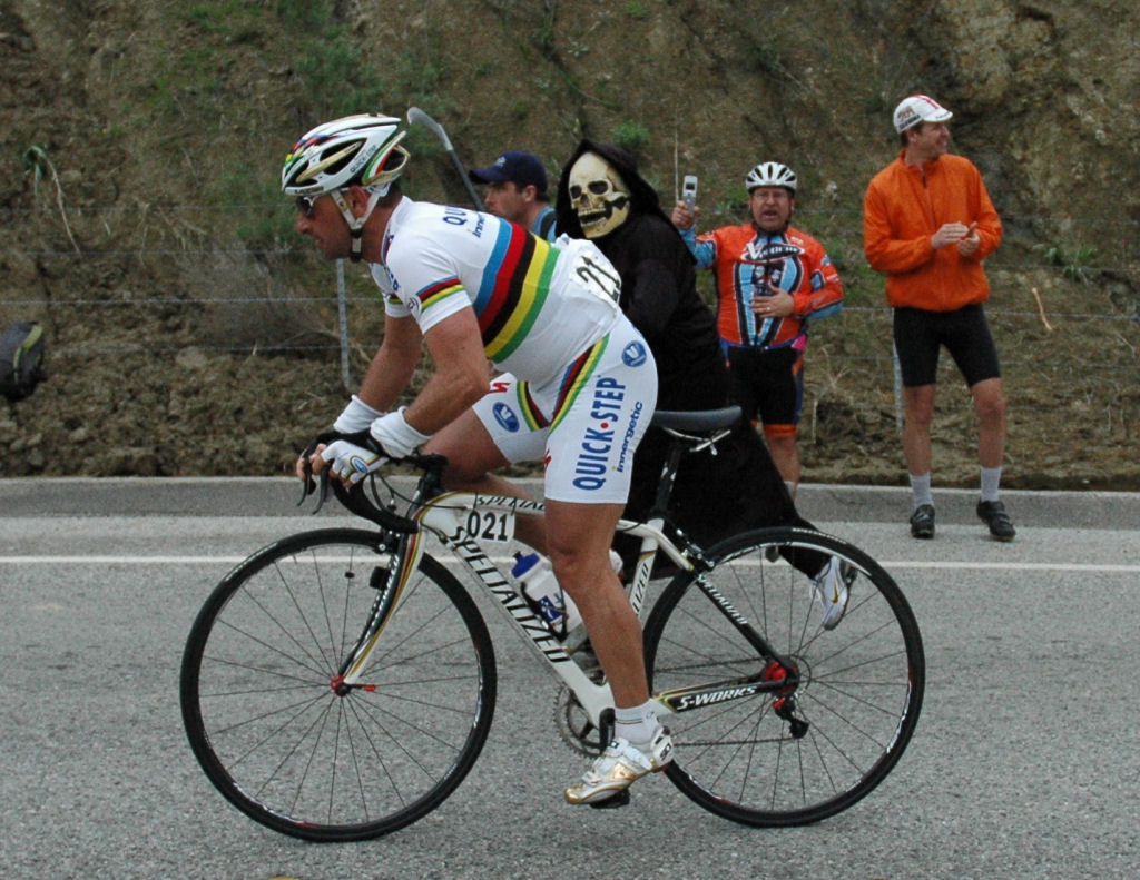 Bettini being reaped by Grim Reaper