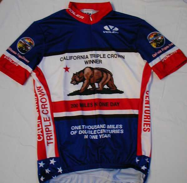 Front of new Voler Blue 1000 Mile Club Jersey