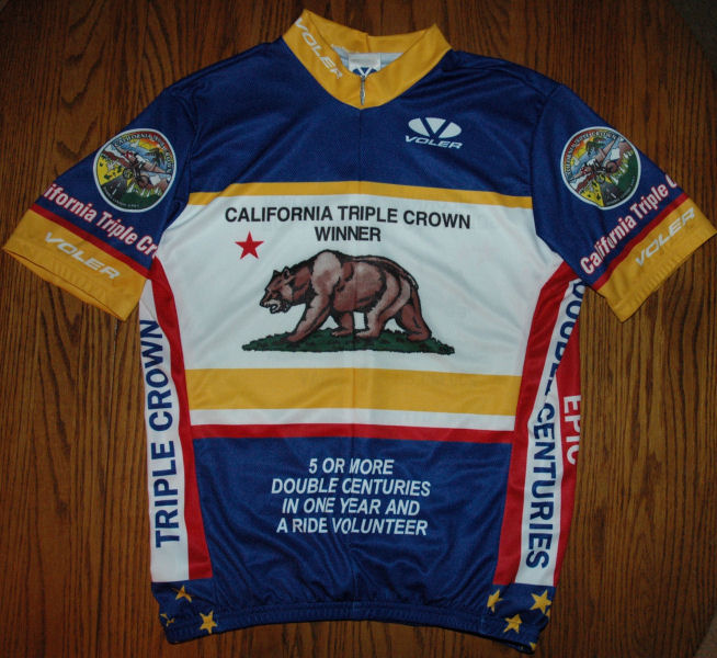 Front of new Voler Gold 1000 Mile Club Jersey